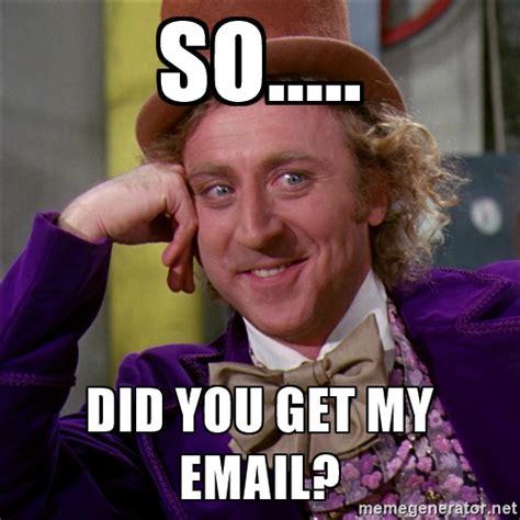 Meme Email - social media marketing search engine news