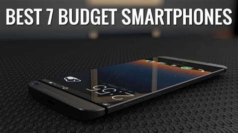 Top 7 Smartphones by Best 7 Budget Smartphones In India For September 2017