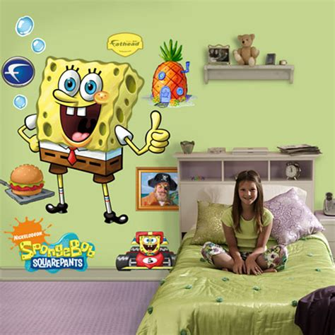 Spongebob Room Decor by Spongebob Squarepants Themed Room Design Digsdigs