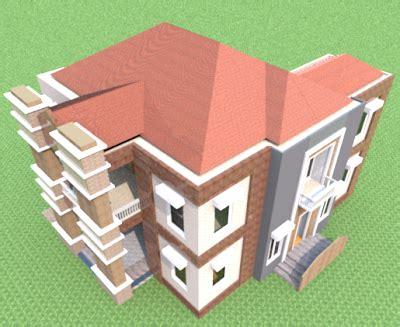 desain rumah satu lantai empat kamar tidur
