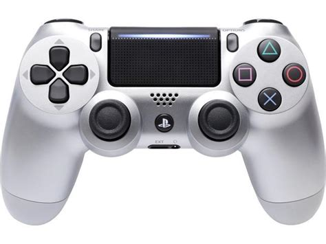Dualshock 4 Silver sony dualshock 4 wireless controller for playstation 4