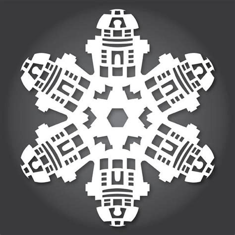 51 free paper snowflake templates star wars style