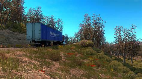 spring weather spring weather mod v 1 0 american truck simulator mods