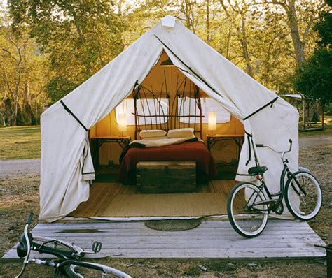 Platform Tents by Canvas Wall Tents