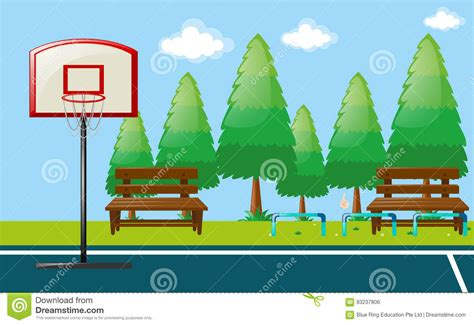 basketball court clipart outside clipart basketball court pencil and in color