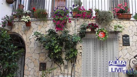 terrazzi in fiore balconi in fiore nel centro storico