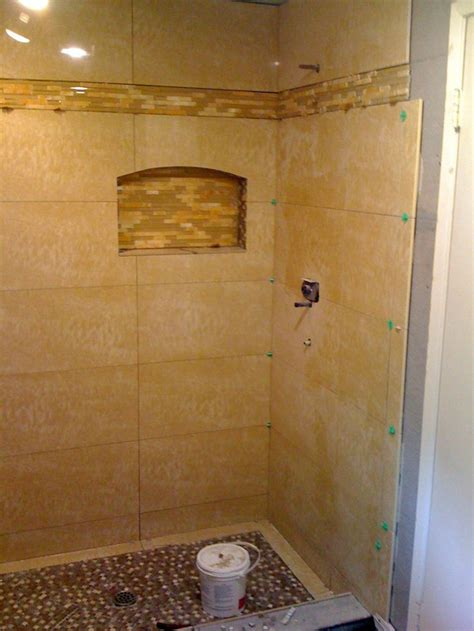 tiled shower stalljpg  bathroom tile ideas