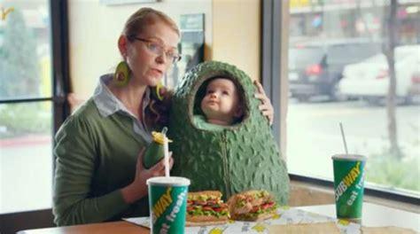 subway commercial actress guacamole avocado obsession commercials subway commercial