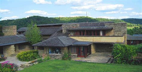 wisconsin house frank lloyd wright 1911 1925 taliesin near spring