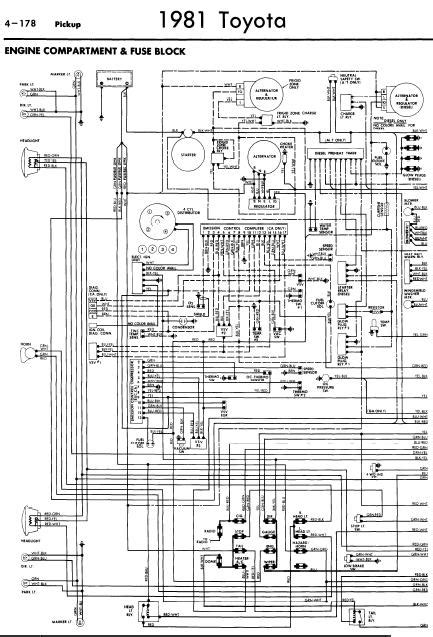 1988 toyota 22re wiring harness diagram toyota