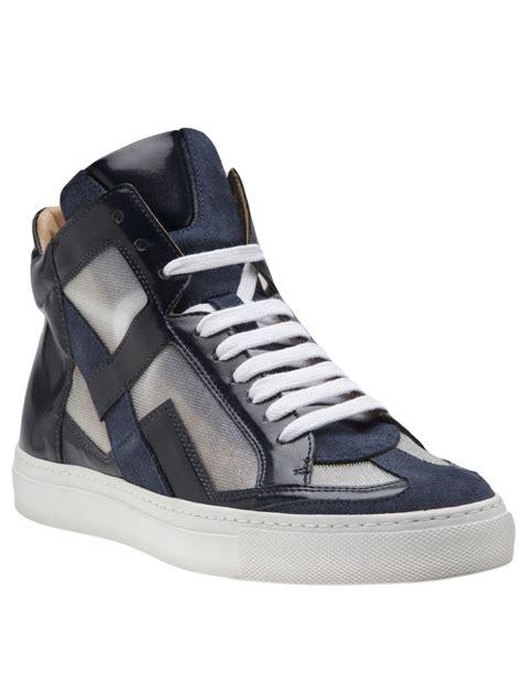 maison martin margiela sneakers mm6 by maison martin margiela cellophane panel sneaker in