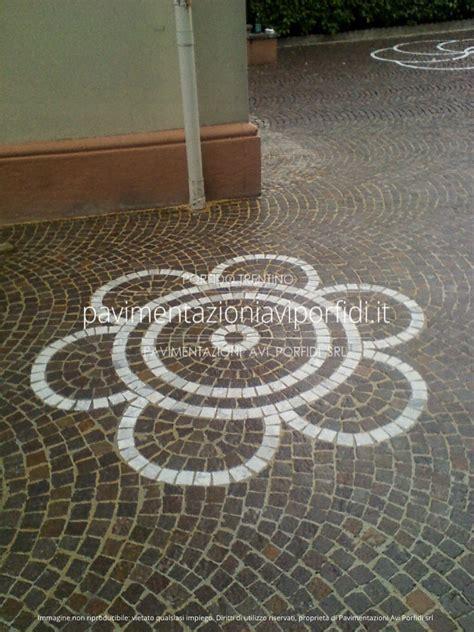 decori per pavimenti pavimentazioni avi porfidi disegni e decori in porfido