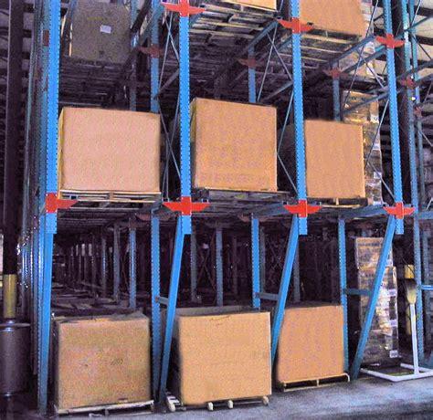 Drive Storage Rack by Drive In Drive Thru Racks Warehouse Design