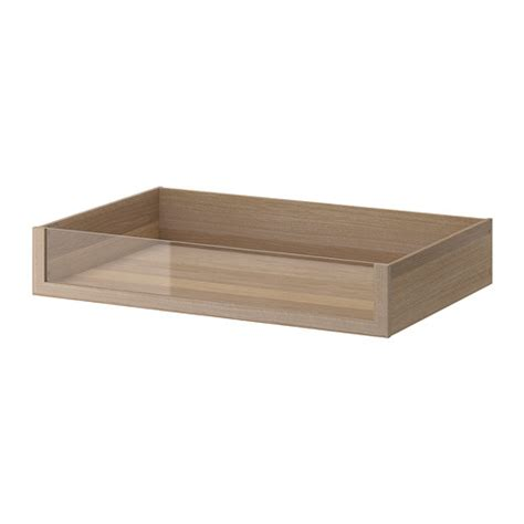Komplement Drawer by Komplement Drawer With Glass Front 100x58 Cm