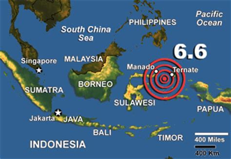 molucca sea earthquake triggers tsunami alert