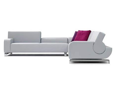 flat couch b flat sofa by leolux design andreas berlin