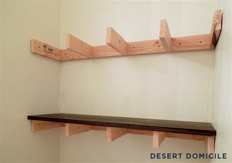 diy 15 chunky wooden floating shelves desert domicile