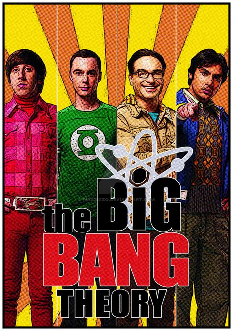 Math Artwork by Big Bang Theory Poster By Massizzo On Deviantart