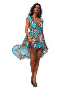 2014 new fashion women s colorful floral printed design summer maxi casual beach dress 5