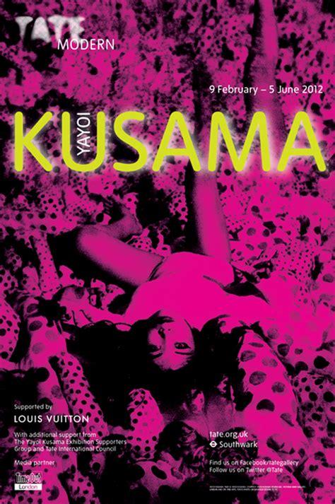 Plakat Yayoi Kusama yayoi kusama poster tate artdone