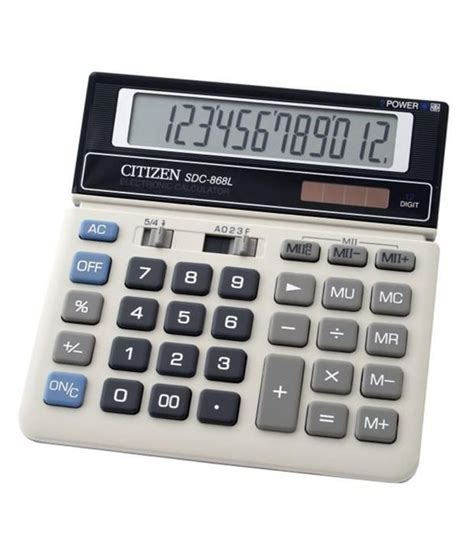 Citizen Calculator Sld 100n citizen sdc 868l basic calculator buy at best
