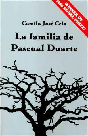 literatura castellana 1er batx la familia de pascual duarte