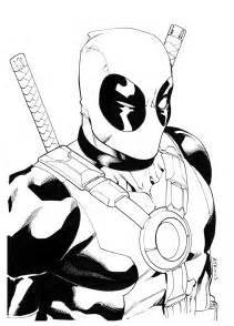 deadpool coloring book free coloring pages of deadpool