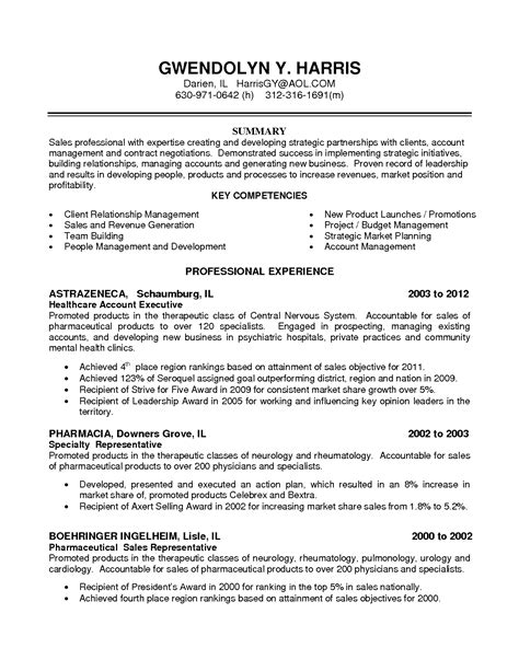 account manager resume sample lifespanlearn info