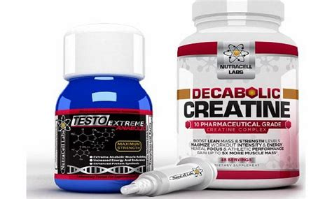 decabolic creatine strongest booster building supplements nutracell labs testo