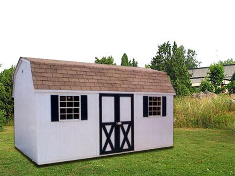 Shed Rentals Inc by 10 X 16 White Dutchman Storage Shed D 1 Portable