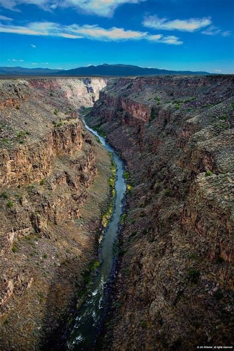 pin by laura mcdonald on santa fe toas new mexico quot my next rio grande gorge taos nm places lieux lugares