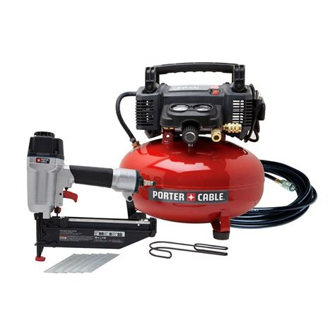 gallon pancake air compressor wnailer combo kit power sales product catalog