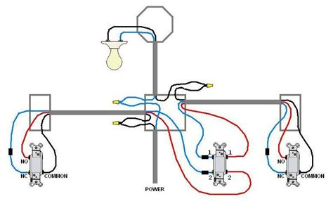 3 way switch wiring diagram light in middle image