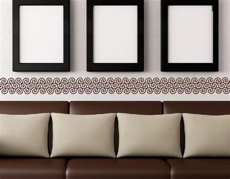 cenefas para decorar paredes vinilo pared con cenefa 04782 tienda de vinilos