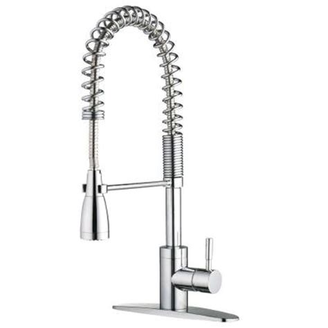 home depot kitchen sink faucets foret pre rinse commercial 1 handle side sprayer