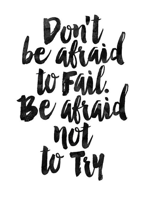 free printable office quotes don t be afraid wall art home decor art print