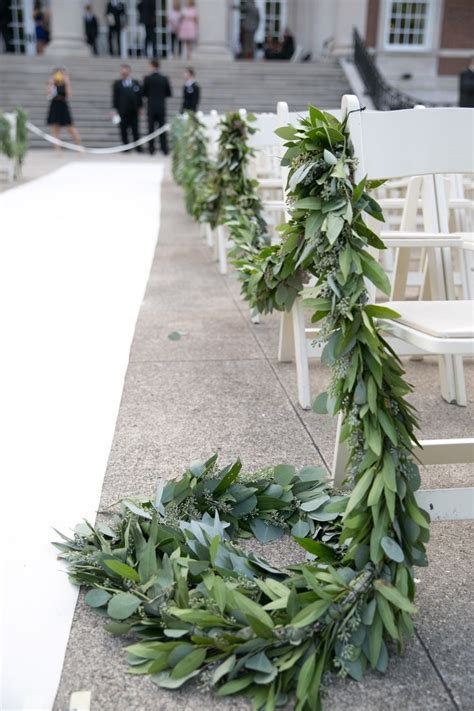 Wedding Aisle With Leaves by 25 Best Ideas About Leaf Garland On Diy