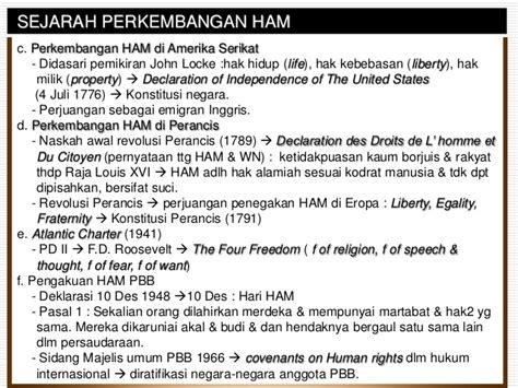 Pemikiran Hkm bab 10 hak asasi manusia