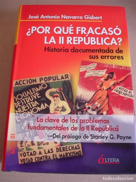 191 por qu 233 fracas 243 la ii rep 250 blica historia docu comprar libros de historia moderna en