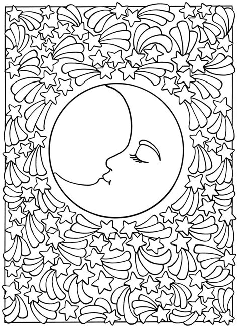 moon coloring pages for adults sun and moon coloring pages az coloring pages