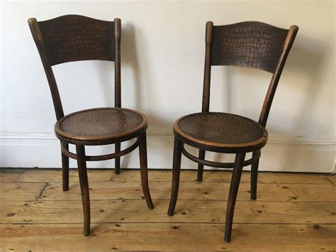 Bistro Dining Chairs Vintage Thonet Bentwood Cafe Bistro Dining Chairs Poland Faux Croc In Gloucester Road Bristol