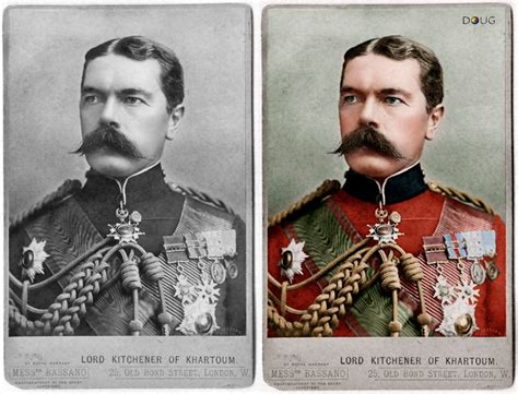 Lord Horatio Kitchener by Colourise History Lord Horatio Kitchener