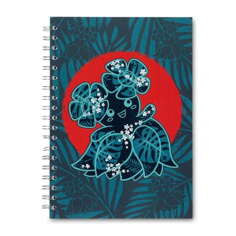 bellossom tropics spiral journal  pages pokemon center