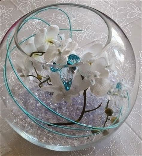 fish table tips luxury wedding fishbowl decoration tips with flowers