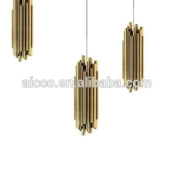 hanging decorative lighting decorative hanging pendant lighting metal tube pendant