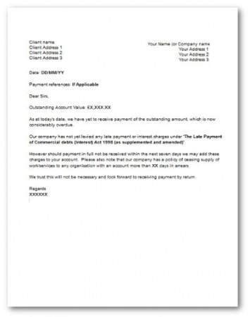 overdue invoice letter template overdue invoice letter template uk hardhost info