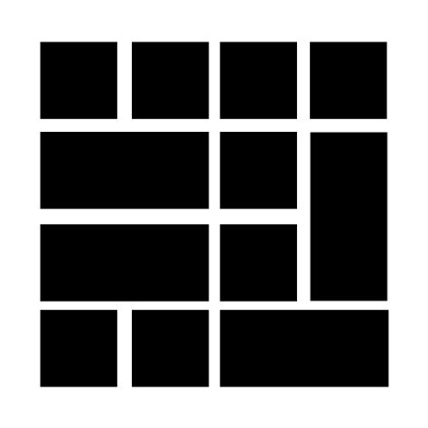 grid layout rowspan html css grid layout with different size boxes stack
