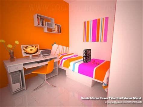 contoh interior kamar tidur kecil rumahku