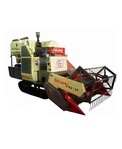 Mesin Panen jual galaxy 4lz 3 2 mesin panen padi combine harvester