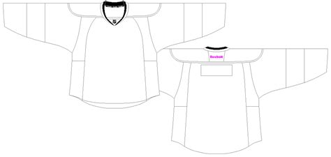 Ajh Hockey Jersey Art Templates Hockey Jersey Template